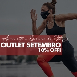 Outlet Setembro 10% OFF