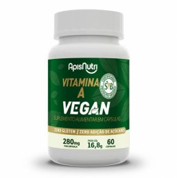 Vitamina A Vegan - 280mg (60 caps)