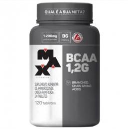 BCAA 1,2G COM VITAMINA B6 (120 TABS)