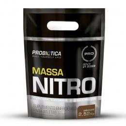 MASSA NITRO NO2 REFIL (2,52KG) - Chocolate