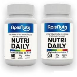 Nutri Daily Polivitamínico A-Z - 450mg - 2 unidades